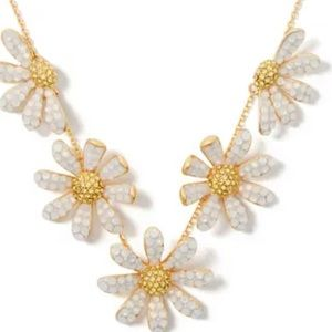 $148 kate spade Dazzling Daisy Statement Necklace